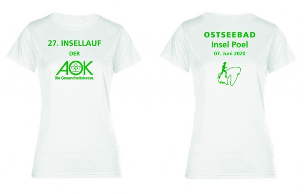 AOK Insellauf Damenshirt